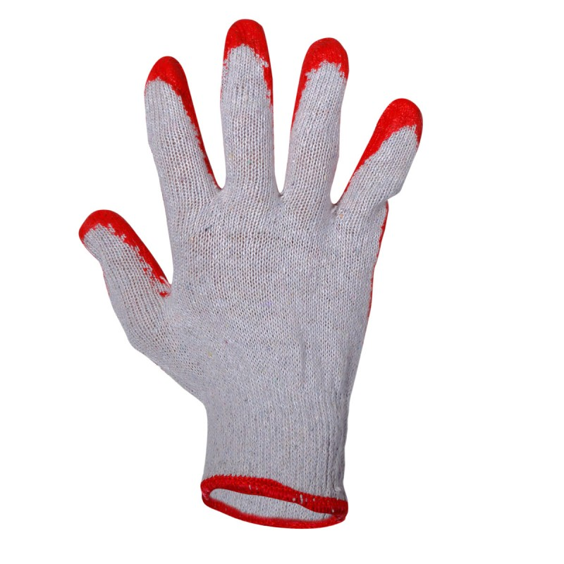 "GLOVES LATEX RED L210609P, 12 PAIRS, ""9"", CE, LAHTI Profix Code :L210609W"