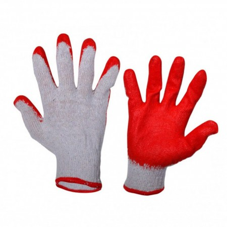 GLOVES LATEX RED L210609W