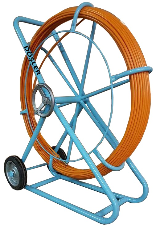 12mm Cable Duct Rodder with wheel (100M)