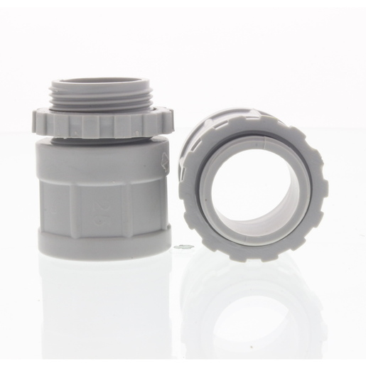 20mm Rigid conduit box gland HF & FR for PVC conduit pipe GREY
