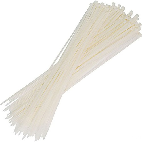 2,5x203 Natural Cable Ties White TORK TKB-200M