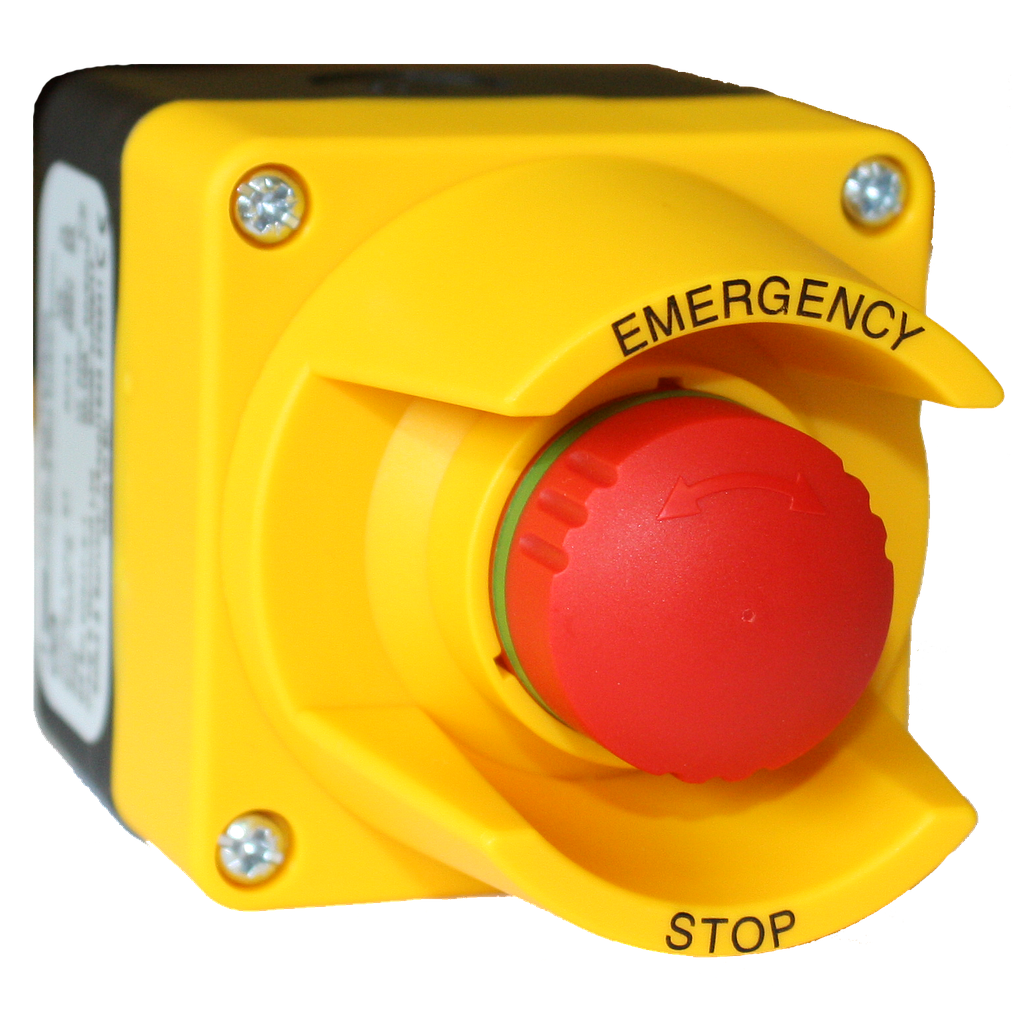 1 Way Emergency Push Button with box  1NC Weiller WL9-BX542KAS