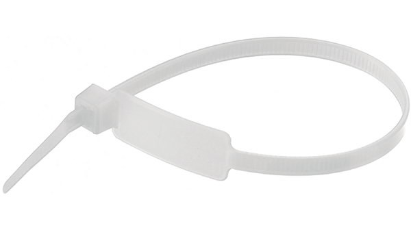 100X2,5 Marker Cable Ties (White)  TORK  TKBE-100M