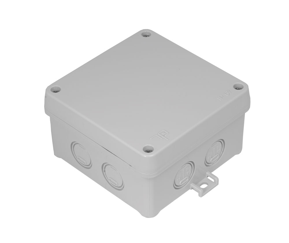 100x100x60 - Screw Lid Box (IP 67) code 3309-206-0600 TP electric