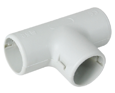 16 mm Tee for PVC conduit pipe L-3000mm  Fire Resistant GREY  MUTLUSAN